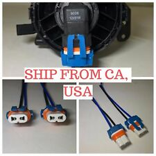 2 X 9006 9005 HB4 HB3 FEMALE WIRE CONNECTOR LIGHT LAMP PLUG HARNESS *USA SELLER*