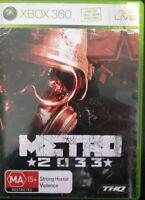 Metro 2033  - Xbox 360 PAL AUS Complete
