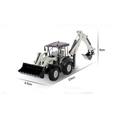 1:50 Scale Diecast Two-Way Backhoe Forklift Truck Construction Cars Model Toys