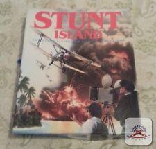 "Disney's Stunt Island - Stunt Flying Filming PC Big Box 5.25"" disks Vintage"
