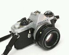 PENTAX ME SUPER 35mm FILM SLR WITH 50mm F/1.4 LENS Albinar F=80-200mm 1:3.9 55mm