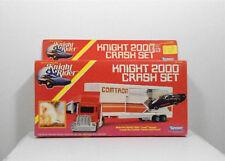 Knight Rider Kenner 1983 Knight 2000 Crash Set RARE