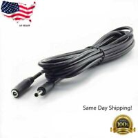 3m/10ft 12v CCTV DC Power Cable Extension Cord Adapter Male/female 5.5mm x 2.1mm