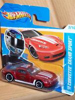 '11 Corvette Grand Sport HW 2012 Hot Wheels Modell Auto Hotweel Muscle Car Rod