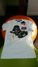 """Deadstock  Adidas Star wars Darth vader T-shirt  """"from 2011""""  size small 36 inch"""