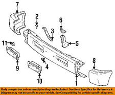 1997 Lexus LX 450 LX450 Rear Bumper Support Bracket Left Hand