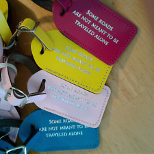 35 OVER-RUNS, assorted colors wedding tags , escort,luggage tags   $2.00 each