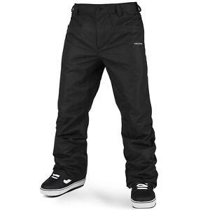 VOLCOM Mens 2022 Snowboard Snow - Carbon Pants - Black