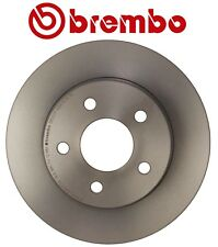 For Chevy Pontiac Saturn Rear Left or Right Disc Brake Rotor Solid 5 Lugs Brembo