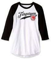 Game Of Thrones HOUSE TARGARYEN Raglan T-Shirt NWT Licensed & Official
