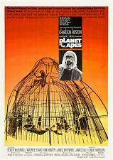 PLANET OF THE APES (1968) Movie Cinema Poster Film Art Print