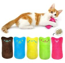 5pcs Catnip Pillow Pet Cat Toy Gift Chew Crazy Grinding Play Toys Teeth Scratch