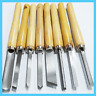 8 PACK OF PRO WOOD LATHE CHISEL SET KITS WOODWORKING CARVING WOODTURNING TOOLS
