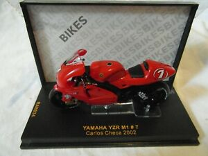 IXO 1:24th Scale Yamaha YZR M1 #7 Carlos Checa 2002 Part RAB034