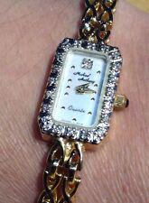 Stunning Ladies 14K Yellow Gold Michael Anthony Watch