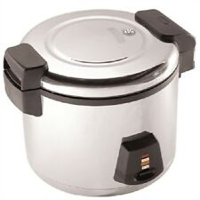 More details for buffalo commercial electric rice cooker 13 litre cooked / 6 ltr dry - j300
