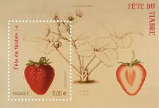 Feuillet F4535 - Fête du timbre - Jardin fruitier du muséum (Fraisier) - 2011