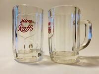 🔴 raro bicchiere boccale vintage BIRRA RAFFO Taranto anni 50 Corriere GRATIS