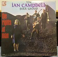 Ian Campbell Folk Group - The Rights Of Man LP VG+ Promo EKL-309 Vinyl 1966 Mono