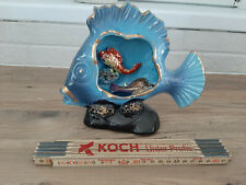 Lampe coquillage  Poisson VALLAURIS vintage An 70 's