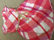Gymboree Girl's Pink Plaid Dress 8 (Perfect for Easter, Spring or Wedding) - NWT