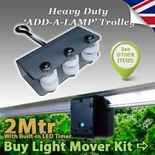 Hydroponics Grow Light Mover Six Wheel Trolley LightRail  Intellidrive Jupiter 2