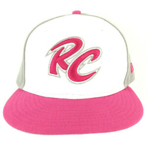 Sacramento River Cats Hat RC Logo NewEra Minor League Snapback Baseball Cap Pink