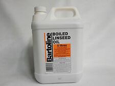 5 Ltr Bartoline Boiled Linseed Oil - 5 L -