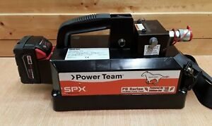 SPX Power Team PB102 Model A 18v Cordless Portable Power Pump with Battery