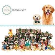 Savannashops Dog Nativity Golden Retriever - Nativity Sets - Golden lover Gifts