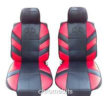 vorne rot Polster gepolstert Sitzbezüge für Nissan Micra Qashqai MPV ALMERA
