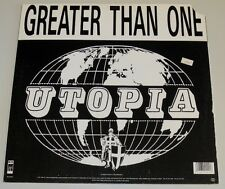 """12"""" US**GREATER THAN ONE - UTOPIA (WAX TRAX! REC. '89 / COVER CUT-OUT)***6354"""