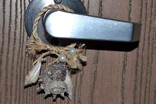 SEASHELL BOTTLE DOORKNOB HANGER DECOR ACCENT #ST1-882
