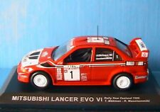 MITSUBISHI LANCER EVO VI RALLY NEW ZEALAND 1999 MAKINEN 1/43 MANNISENMÄKI