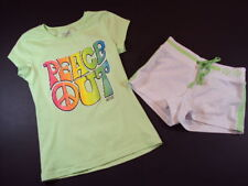 NWT New Girls Wholesale Summer Outfit Shorts Shirt SZ 7