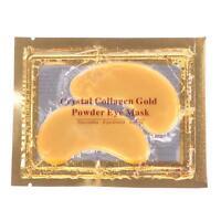 1Pair Anti Aging Wrinkles Dark Circle Gold Collagen under Eye Pad Mask Moisturiz