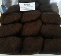 Boîte de 20 Mini Pelotes 50% Mohair PICHENETTE ! Chocolat