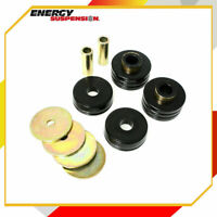 OD Spare Tire Latch Bushing Energy Suspension 4.9106G Spare Tire Latch Bushing Black Tire Rack Latch 1.75 in