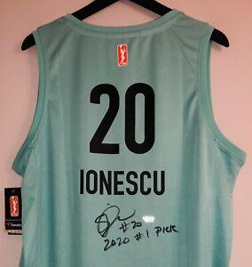 Sabrina Ionescu Autographed New York Liberty Signed WNBA Rookie Jersey FANATICS