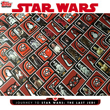 PICK-A-PATCH STAR WARS JOURNEY TO THE LAST JEDI 2017 TOPPS GALACTIC EMBLEM RELIC