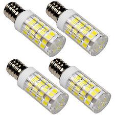 4pcs E12 110V LED Bulbs Cool White for Bernette MO234 MO334 MO335 Sewing Machine