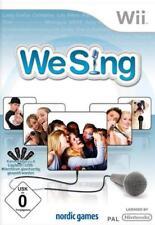 Nintendo Wii Wii-U We Sing DEUTSCH (ohne Mikro) Neuwertig