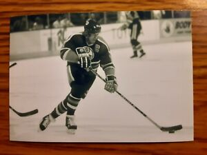 Mark Messier Oilers Hockey 4x6 Game Photo Picture Card