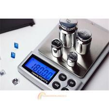 500g x 0.01g Digital-Taschen-Skala-Gold-Silber-Schmucksachen Gewicht-Balance LCD