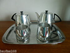 VINTAGE 1960/70's SONA Classic Shine Tea Set,Teapot,Water Jug,Sugar,Milk,Tray