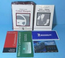 00 2000 Mercury Grand Marquis owners manual BRAND NEW