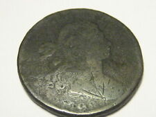 1798 2ND Hair Draped Bust Large Cent Good 4 Detail
