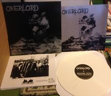 Overlord-Broken Toys (berline 200 * white vinyle * US HARD ROCK * ALICE COOPER * KISS)
