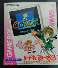 Système Portable Nintendo Game Boy Color CardCaptor Sakura Special Edition Rose et Blanc