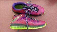 Nike Lebron X Air Max 579765-601 Rasberry Low Men's size 10